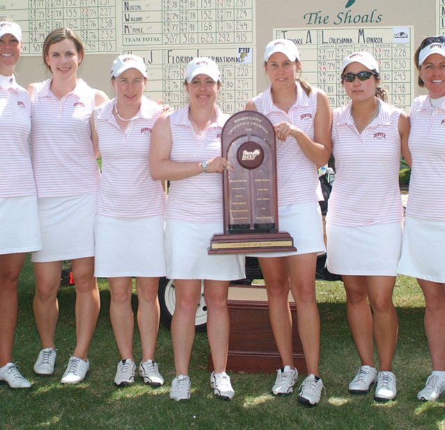 Denver won the Sun Belt Conference Championship on April 21.