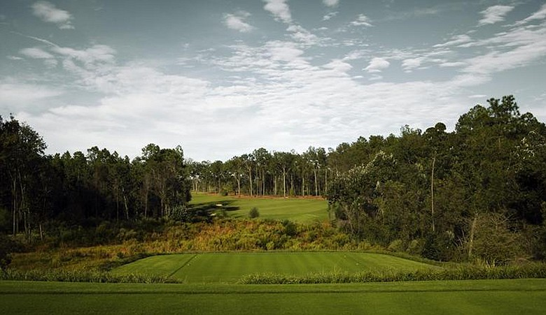 No. 13 at Fallen Oak Golf Club, site of the inaugural Mississippi Gulf Resort Classic.