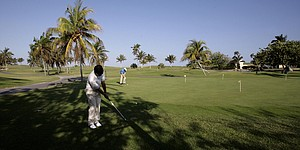 Organizers working to promote golf in Cuba