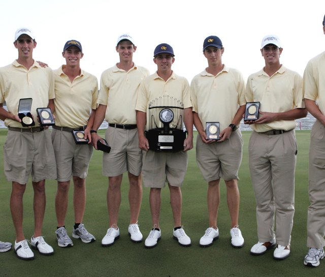 Georgia Tech won the ACC Championship on April 25.