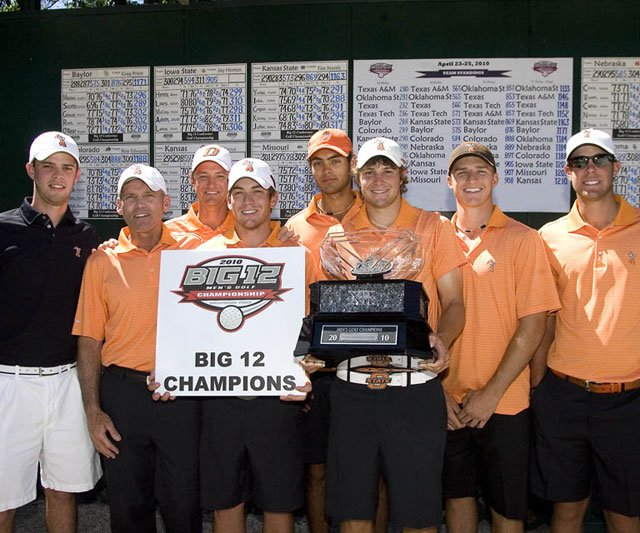 Oklahoma State won its fourth consecutive Big 12 Championship.