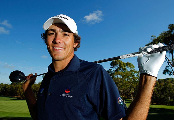 Matt Jager poses for a photo after winning the final round of the 2010 Australian Amateur Championship at Lake Karrinyup Country Club on March 24 in Perth, Australia.