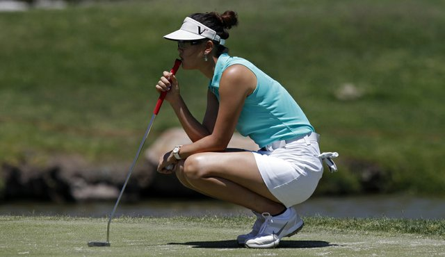 Michelle Wie is leading the Tres Marias Championship.