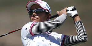 Miyazato holds one-shot lead at Tres Marias
