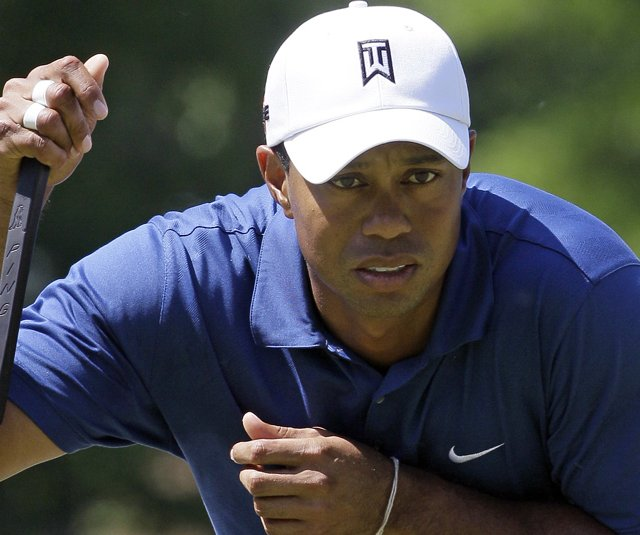 Tiger Woods at the Quail Hollow Championship.