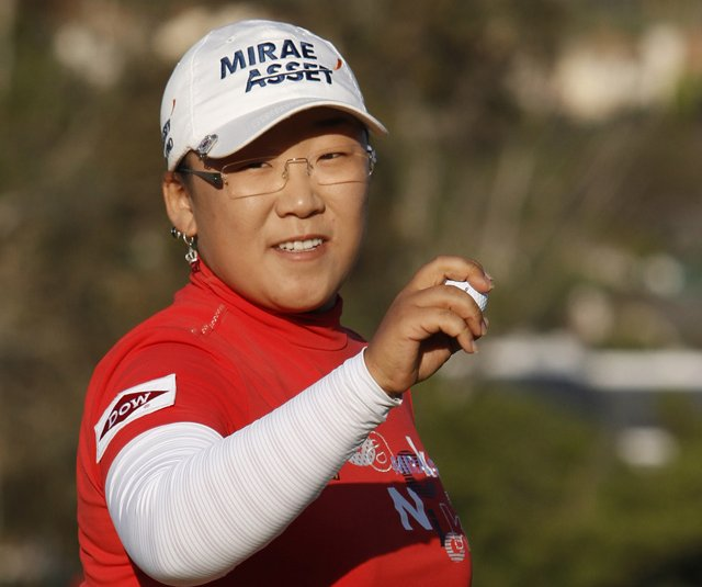 Jiyai Shin at the Kia Classic in March.
