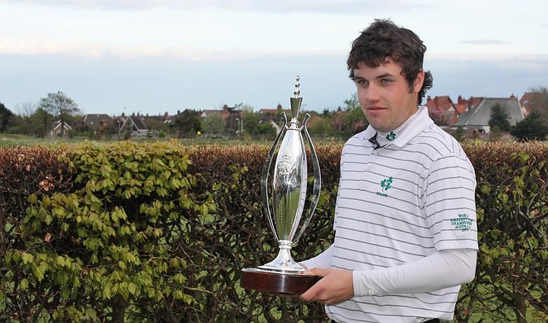 Paul Cutler won the Lytham Trophy on May 2.