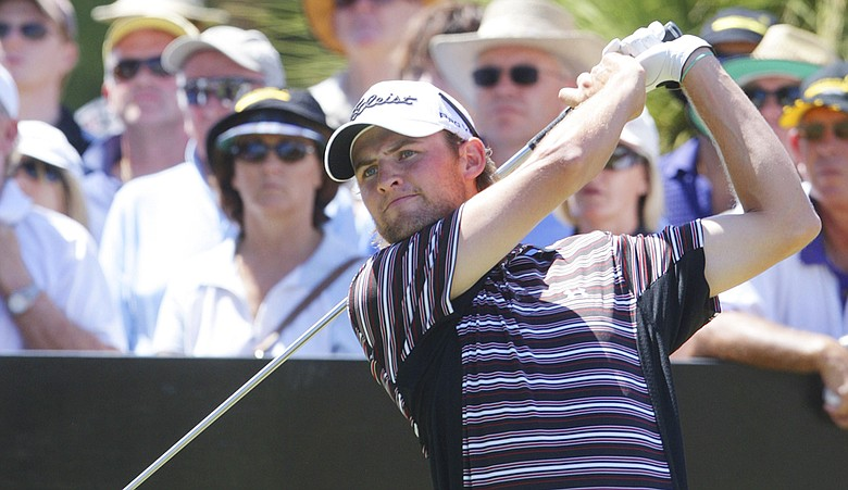 Michael Sim at the 2009 Johnnie Walker Classic.
