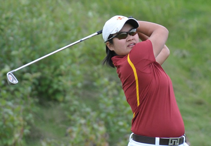 Senior Pennapa Pulsawath is tied for 21st after rounds of 74-75.