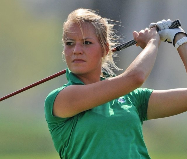 Notre Dame senior Annie Brophy was disqualified from the NCAA Central Regional after reporting false scores to Golfstat volunteers.