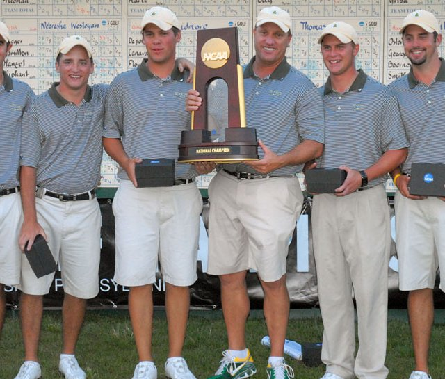 Methodist, winner of the 2010 NCAA Division III Men’s Golf Championship