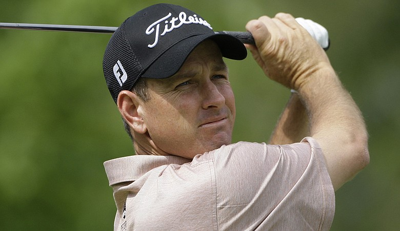 Jeff Klauk hits a shot at the 2009 U.S. Bank Championship. (file photo)