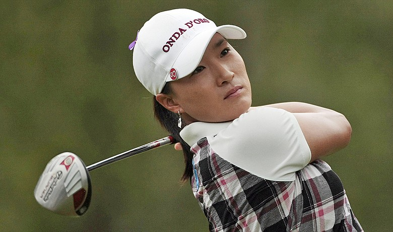 Se Ri Pak during the final round of the Bell Micro LPGA Classic.