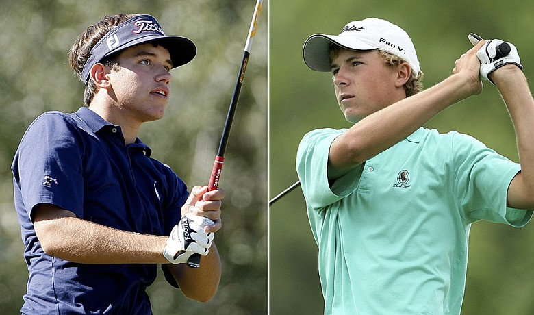 Cory Whitsett (left) and Jordan Spieth