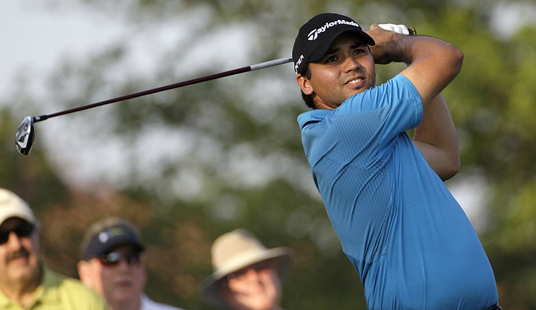 Jason Day leads the Byron Nelson Championship.