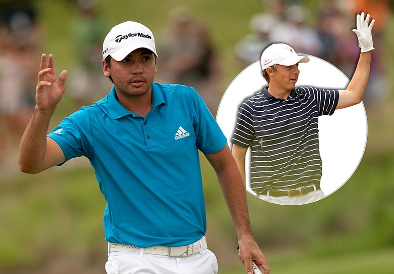 Jason Day (left) earned his first PGA Tour victory May 23 at the Byron Nelson Championship, a tournament dominated with buzz form 16-year-old Jordan Spieth (inset).