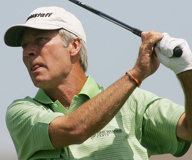 Ben Crenshaw opened the Senior PGA Championship with an even-par 72. (file photo)