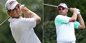Molder, Davis tied for lead at Crowne Plaza
