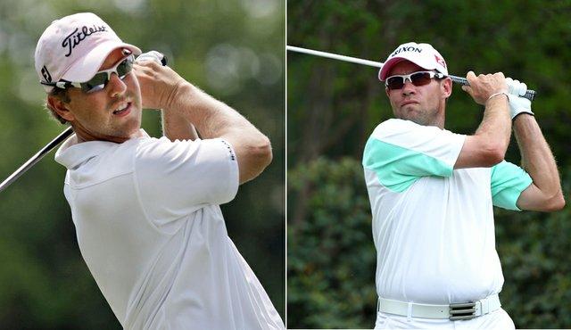 Bryce Molder and Brian Davis