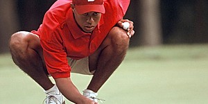 '96 NCAAs: Tiger, big crowds and one wild shot