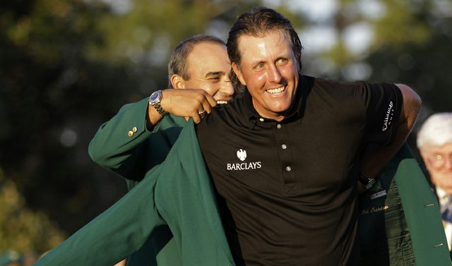 Phil Mickleson won the 2010 Masters.
