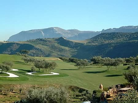 Antequera Golf Club in Málaga, Spain.