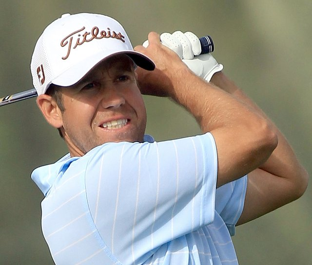 Erik Compton at the 2010 Omega Dubai Desert Classic.