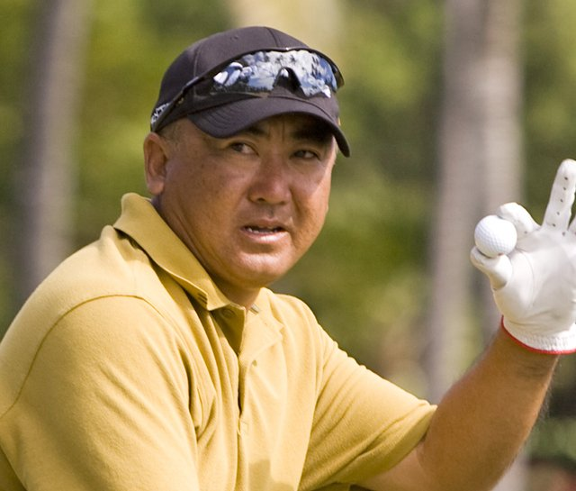Kevin Hayashi at the 2010 Sony Open.