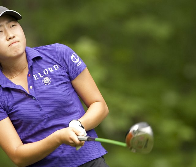 Jennifer Song during the 2009 U.S. Women's Amateur Public Links.