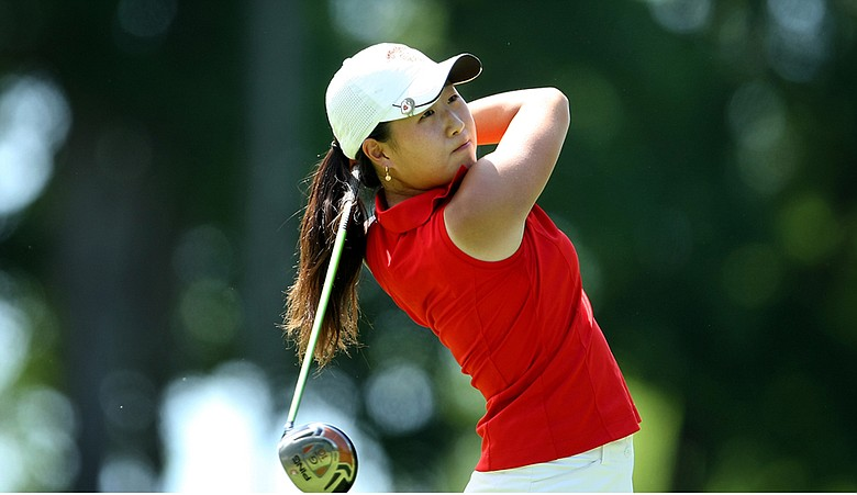 Jennifer Song during the 2009 NCAA Championship.