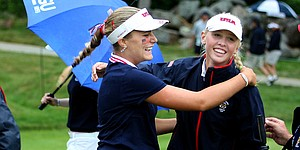 USA overpowering on Day 2 of Curtis Cup