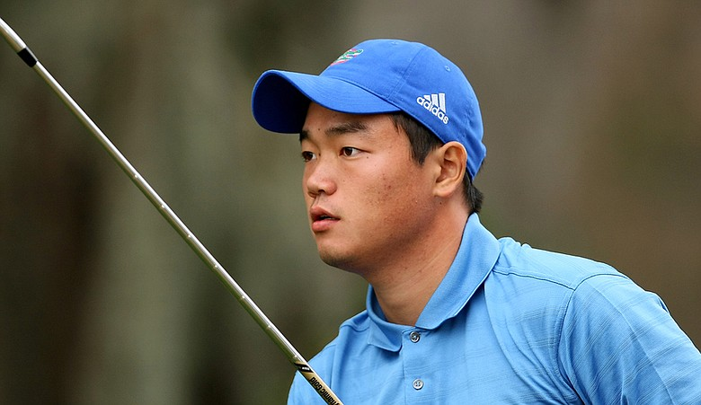 Mu Hu advanced to match play at the British Amateur Championship.
