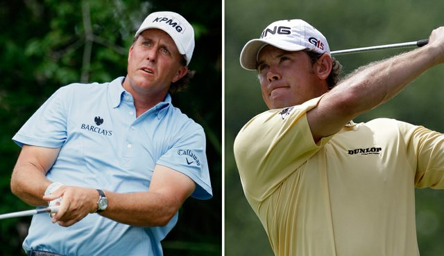 Phil Mickelson and Lee Westwood