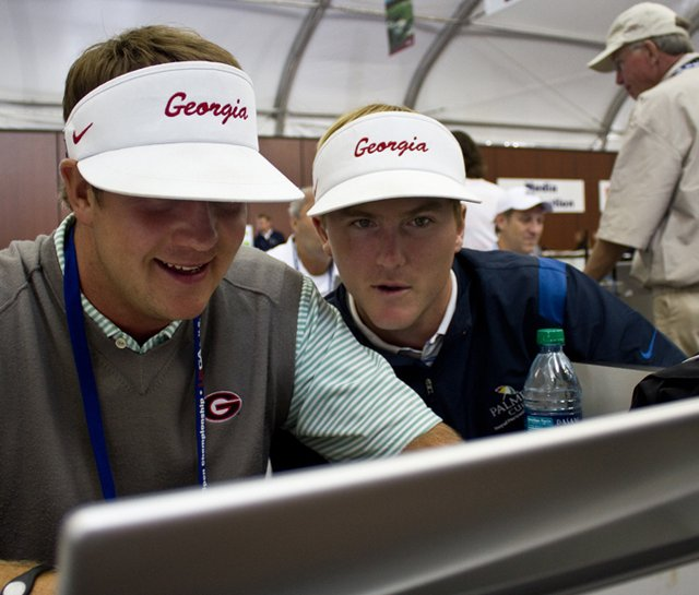 Hudson Swafford (left) and Russell Henley chatted live on Golfweek.com from Pebble Beach on June 16.