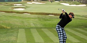 Fairway fashion at Pebble Beach