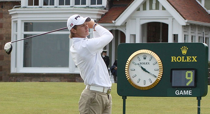 England's Tom Lewis hails from Welwyn Garden City, Nick Faldo's hometown.