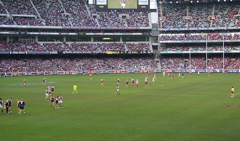 AFL football game