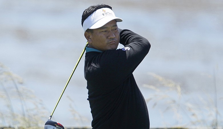 K.J. Choi shot 70 in the first round of the U.S. Open.