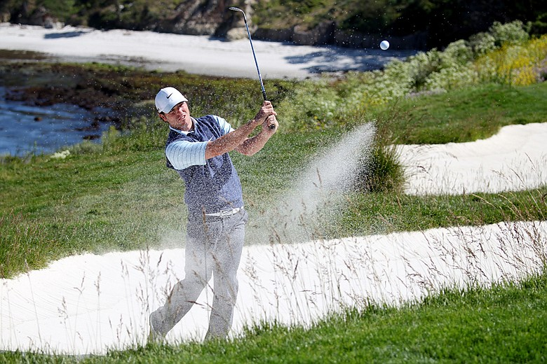 Pablo Martin during a U.S. Open practice round.