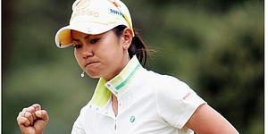 No. 1 Miyazato eyes back-to-back Evian titles