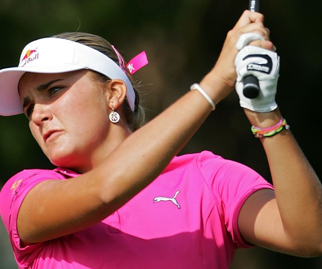 Alexis Thompson made her professional debut at the ShopRite LPGA Classic.