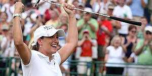 Kerr wins LPGA by 12, locks up world No. 1