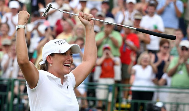 """""""It's been such an amazing week. To play here well on a golf course this tough and to win by that many shots in a major championship – that's just unreal."""" - Cristie Kerr on winning the LPGA Championship by an eye-opening 12 strokes at Locust Hill Country Club in Pittsford, N.Y. She became No. 1 in the world with the victory."""