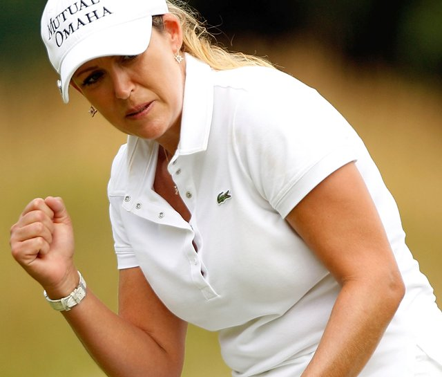 Cristie Kerr during the final round of the LPGA Championship.