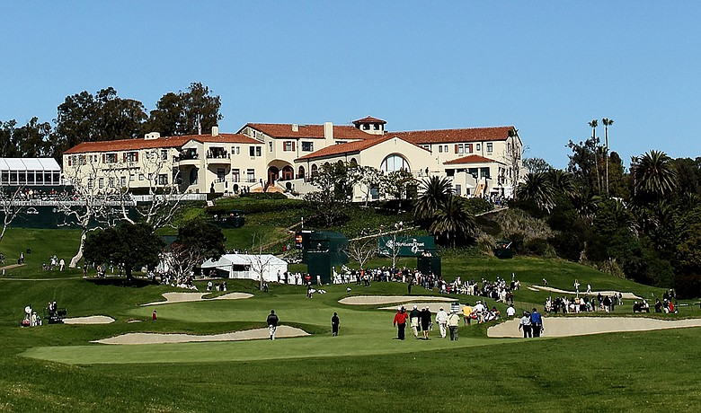Riviera Country Club during the 2010 Northern Trust Open.
