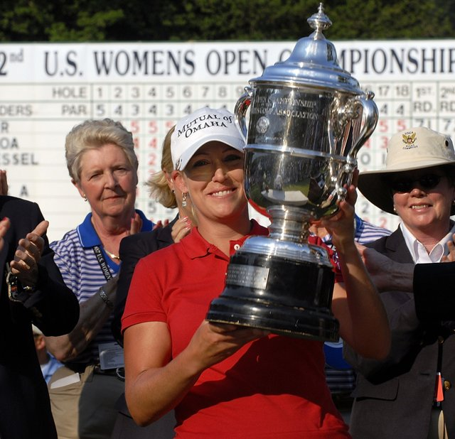 Cristie Kerr won the 2007 U.S. Women's Open Championship at Pine Needles.