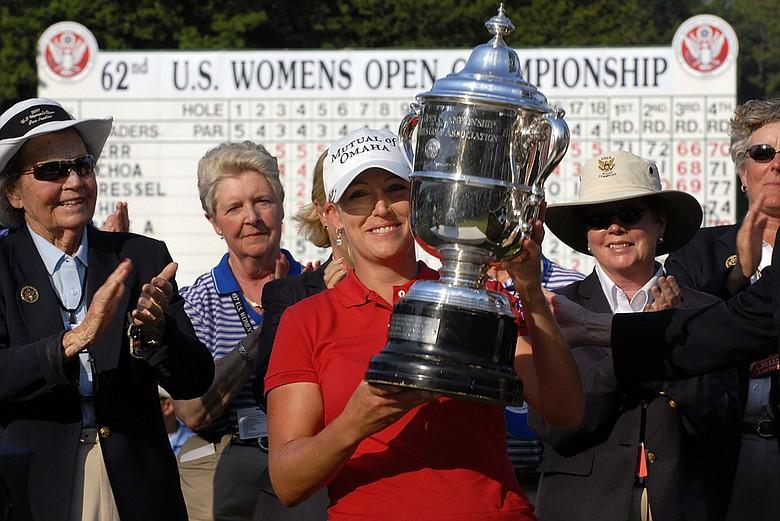 Cristie Kerr won the 2007 U.S. Women's Open Championship at Pine Needles.