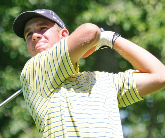 Patrick Rodgers shot 3-under 69 in Round 3 of the Rolex Tournament of Champions.