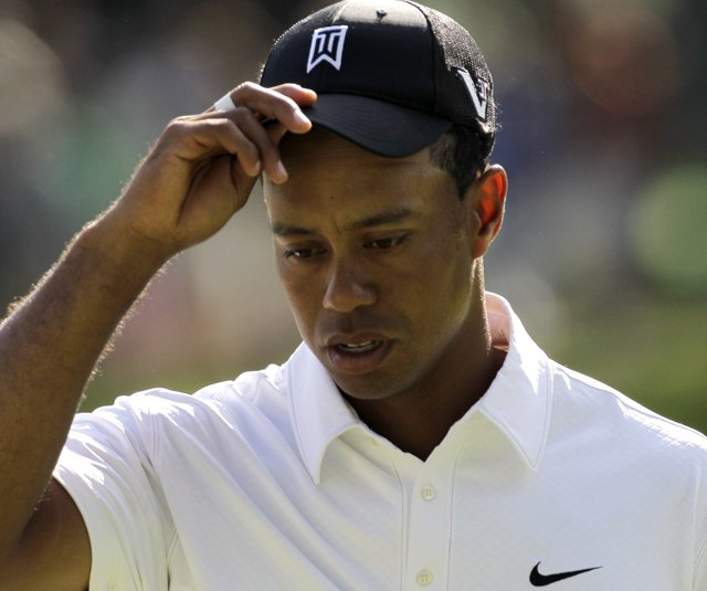 Tiger Woods opened with a 3-over 73 at the AT&T National.
