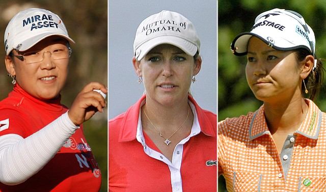 Jiyai Shin (No. 3 in Rolex Rankings), Cristie Kerr (No. 1) and Ai Miyazato (No. 2) are some favorites this week.